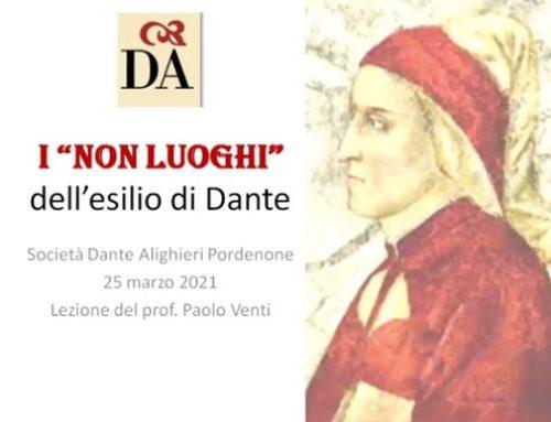 """DANTE. I """"non luoghi"""" dell'esilio di Dante, a cura di Paolo Venti."""